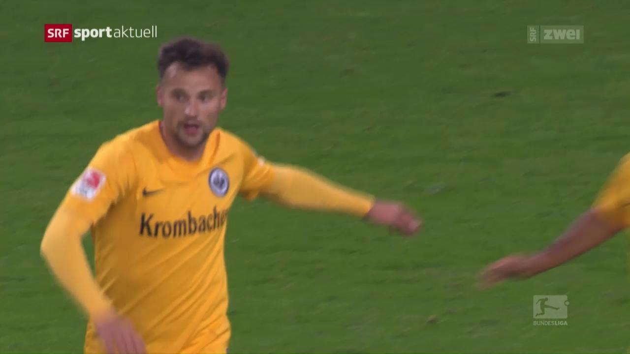 Tarashaj und Seferovic schiessen Frankfurt zum Sieg