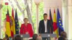 Video «Merkel und Sanchez in Spanien» abspielen