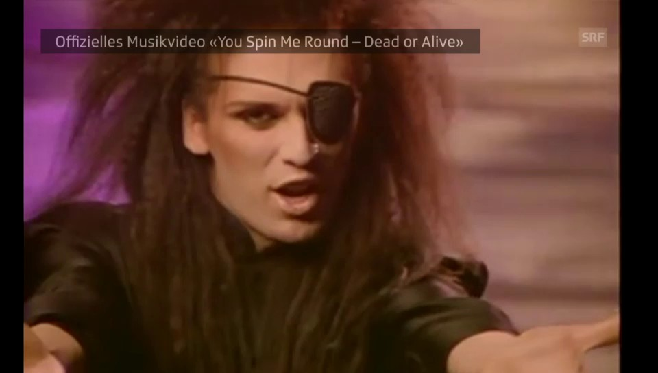 Ausschnitt aus Videoclip «Spin Me Round»