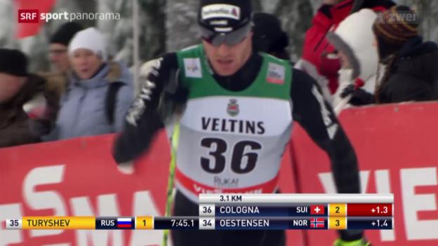 Video «Langlauf: Weltcup Männer, 15 km klassisch» abspielen