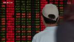 Video «Sinkflug an Chinas Börsen» abspielen
