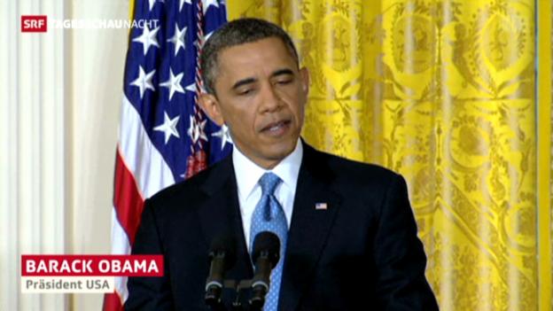 Video «Obama für verschärfte Waffengesetze» abspielen