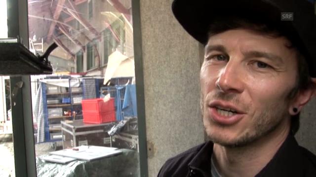 «SRF bi de Lüt – Live»: Andreas Stutz, Krankamera