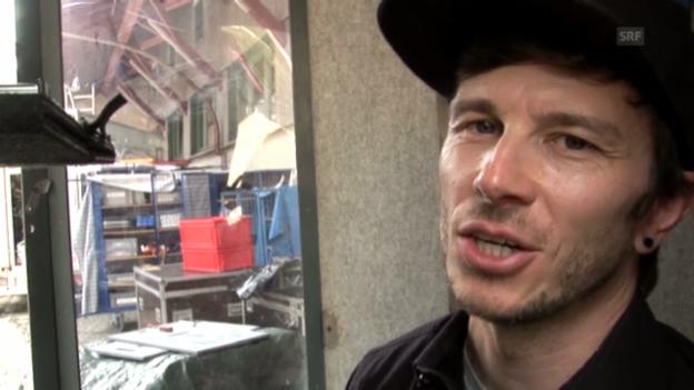 Video ««SRF bi de Lüt – Live»: Andreas Stutz, Krankamera» abspielen