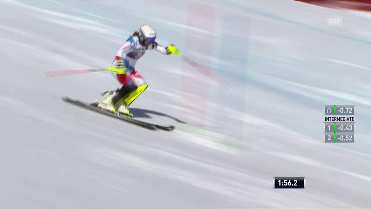 Der Slalom von Wendy Holdener