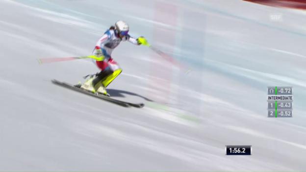 Video «Der Slalom von Wendy Holdener» abspielen