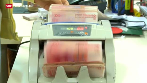 Video «Schweizer Banken buhlen um Chinas Währung» abspielen