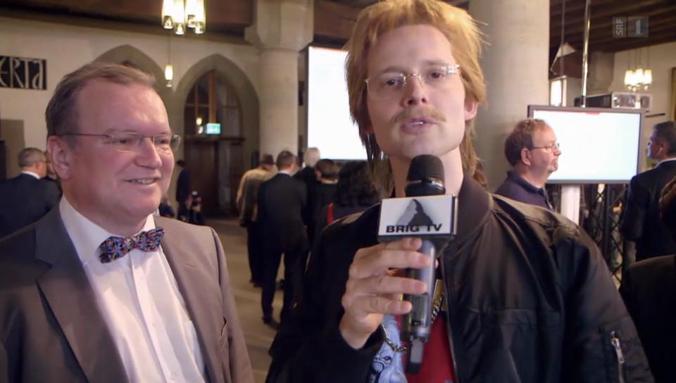 Brig TV: Politiker und Wahlen in Bern