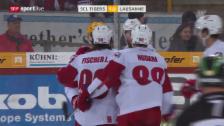 Video «SCL Tigers unterliegen Lausanne» abspielen