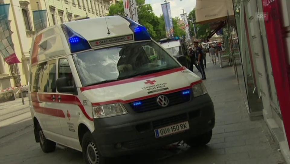 ORF berichtet live von der Amokfahrt.
