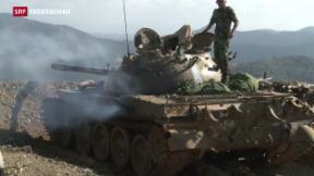 Video ««Sie haben Streubomben über uns abgeworfen»» abspielen