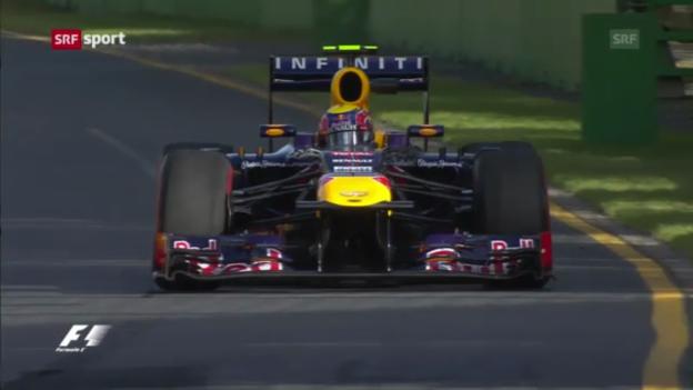 Video «Vettel bereits wieder top - Sauber im Mittelfeld» abspielen