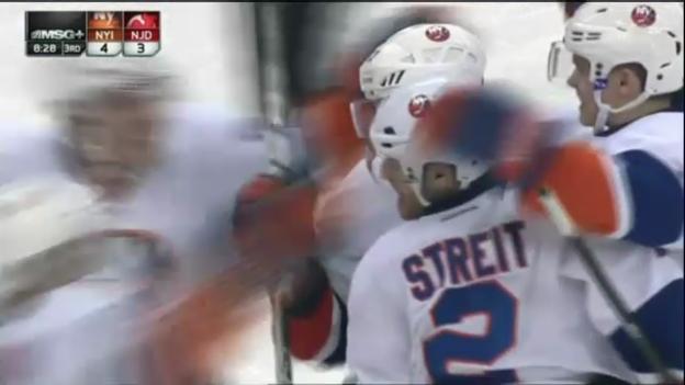 Video «Eishockey: Mark Streit Treffer gegen Devils» abspielen
