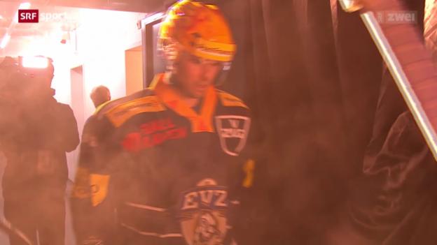 Video «Eishockey: NLA, Zug - Freiburg» abspielen