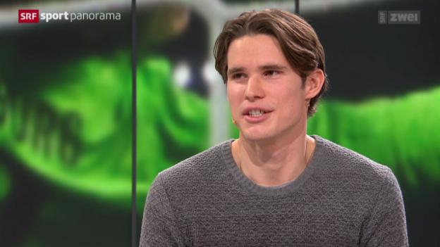 Video «Fussball: Studiogast Marwin Hitz im Gespräch - Teil I» abspielen