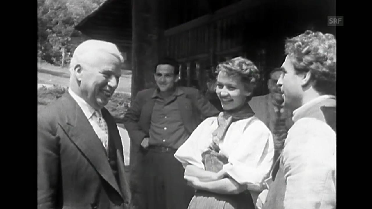 «Chaplin, Pulver, Schmidhauser», Rohmaterial, 1955