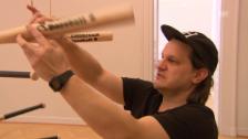 Video «Beni Bischof stellt im Kunstmuseum St. Gallen aus» abspielen