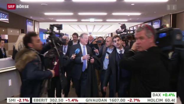 Video «SRF Börse vom 21.01.2015» abspielen