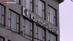 Video «Regulierungsdruck macht Kantonalbanken zu schaffen» abspielen