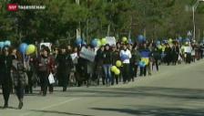 Video «Diplomatische Bemühungen zur Beilegung der Ukraine-Krise» abspielen