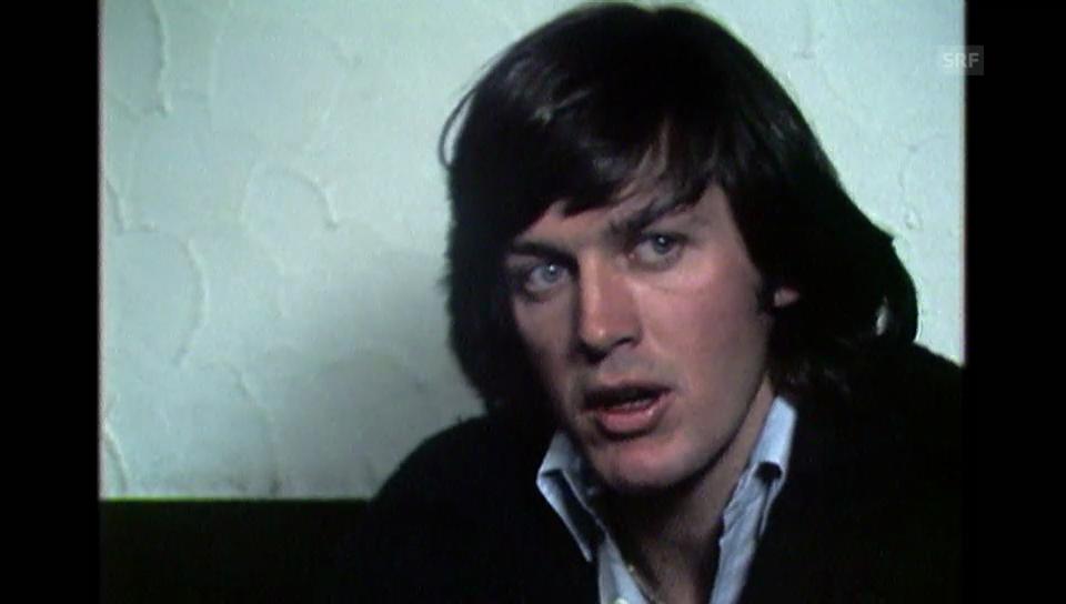 Interview mit Bernhard Russi («Karussell vom 8.12.1977)
