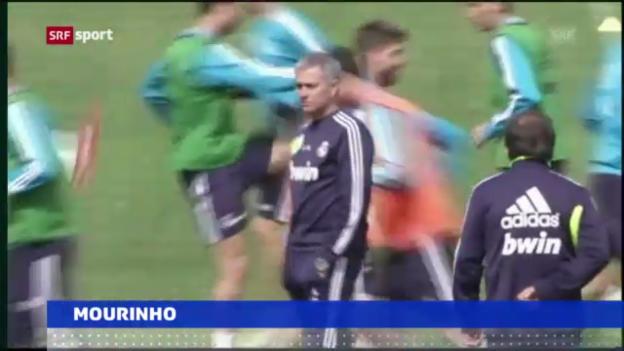 Video «Fussball: Real trennt sich von Mourinho» abspielen