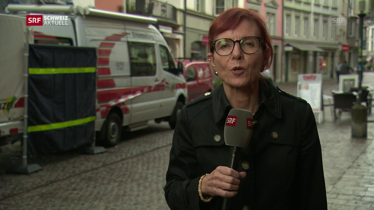 SRF-Korrespondentin Brigit Weibel zu den aktuellsten Entwicklungen
