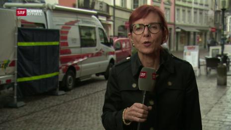 Link öffnet eine Lightbox. Video SRF-Korrespondentin Brigit Weibel zu den aktuellsten Entwicklungen abspielen