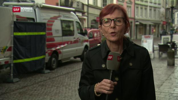Video «SRF-Korrespondentin Brigit Weibel zu den aktuellsten Entwicklungen» abspielen