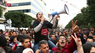 Video «Tunesien – drei Nächte lang Proteste» abspielen