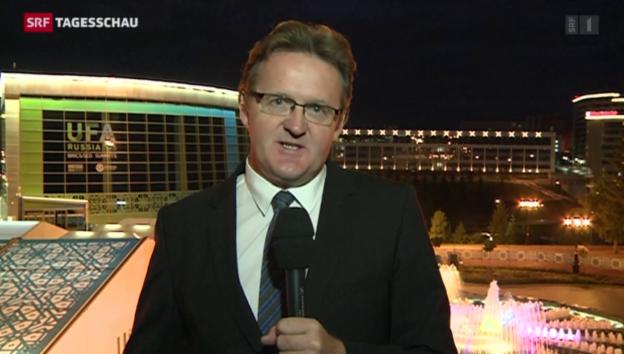 Video «Einschätzung von Christof Franzen in Ufa» abspielen