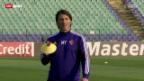 Video «Fussball: Basel vor dem Playoff-Spiel gegen Ludogorets» abspielen