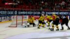 Video «Champions Hockey League: SCB unterliegt Turku trotz Fürhung Turku - Bern» abspielen