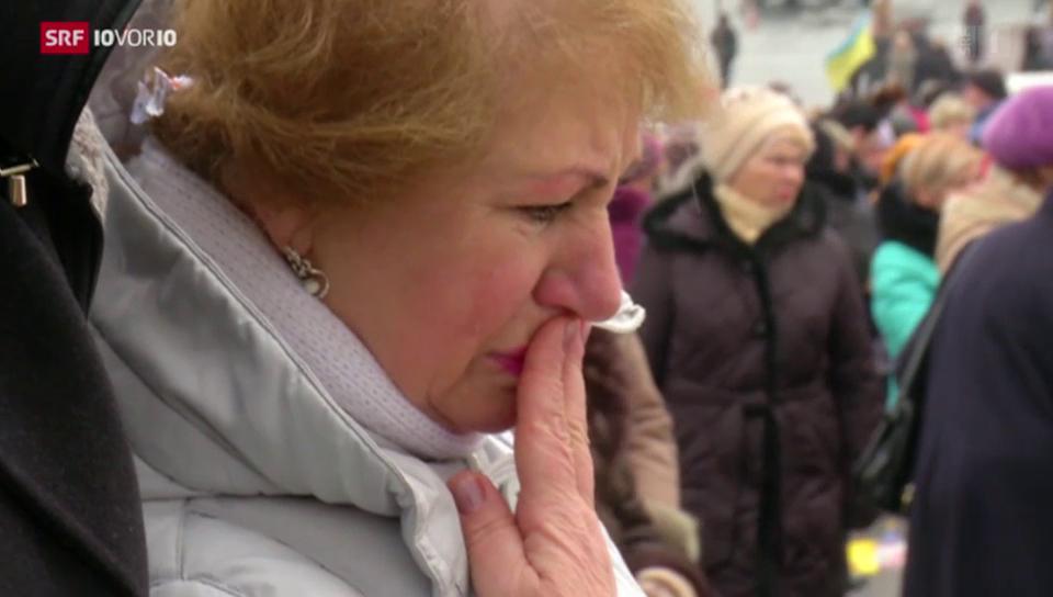 Krieg und Ernüchterung in der Ukraine