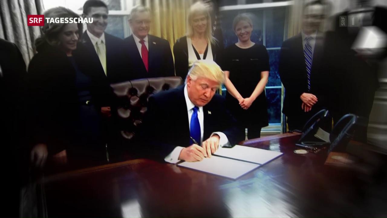 Richterin schwächt Trumps Dekret