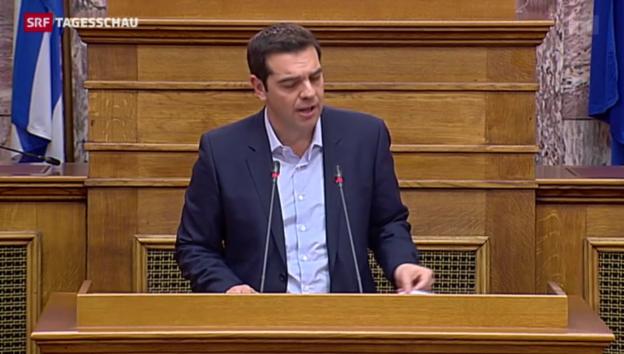 Video «Nervenkrieg um Griechenland» abspielen