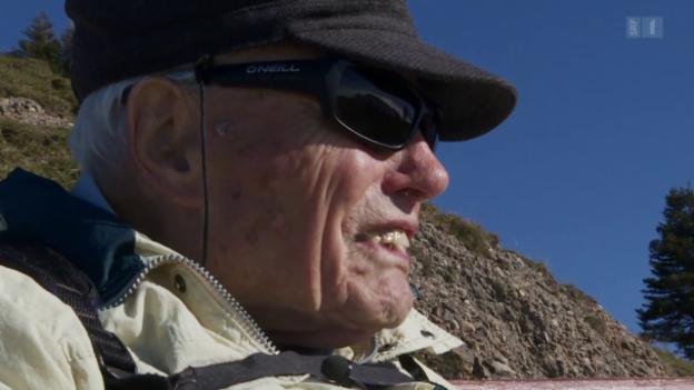 Video «Der alte Mann und der Berg» abspielen