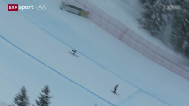 Video «Ski: Vilettas hochverdienter Erfolg» abspielen
