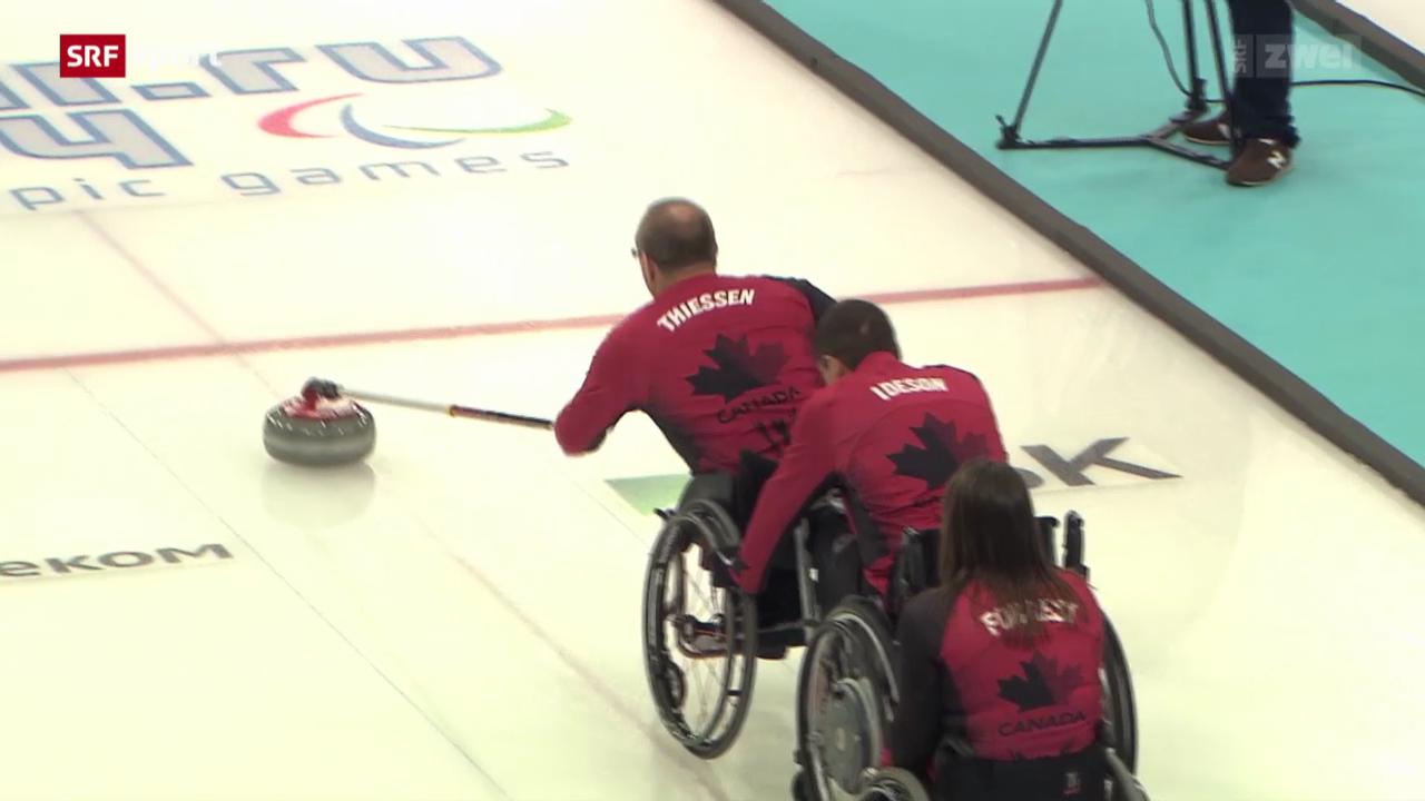 Curling: Das Rollstuhl-Curling im Porträt