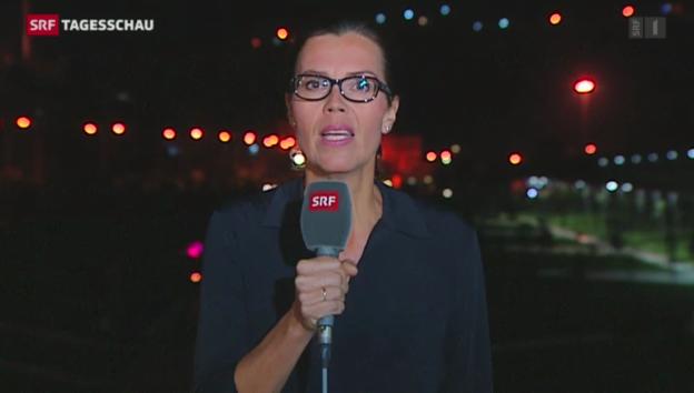 Video «Ruth Bossart in Sanliurfa (Türkei)» abspielen