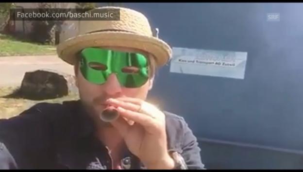 Video «Baschis Jubel-Video» abspielen
