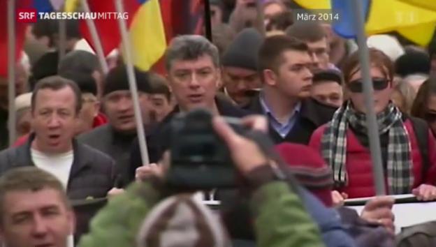 Video «Nemzow - der gnadenlose Kritiker» abspielen