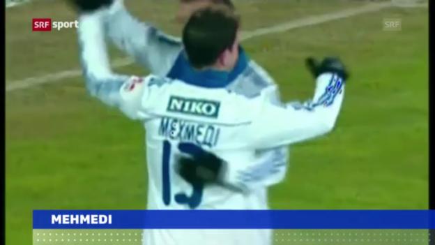 Video «Mehmedi zum SC Freiburg («sportaktuell»)» abspielen