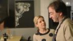 Video «Werner Tobler begrüsst Myriam in seinem Restaurant» abspielen