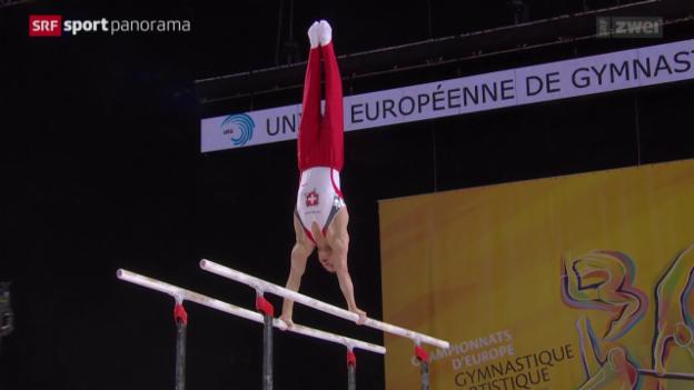 Video «Turnen: EM 2015, Gerätefinals Männer» abspielen