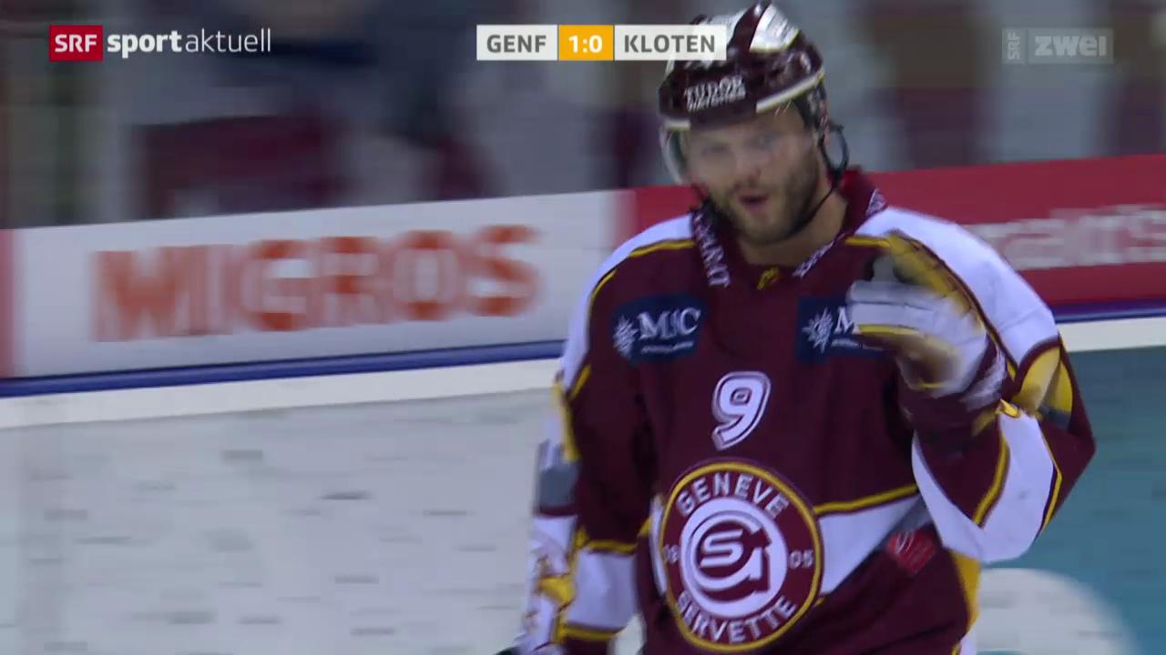 Eishockey: Genf-Servette - Kloten