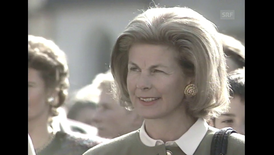 Archiv: Staatsbesuch des Fürsten von Liechtenstein in der Schweiz