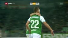 Link öffnet eine Lightbox. Video St. Gallen feiert seltenen Sieg gegen Basel abspielen