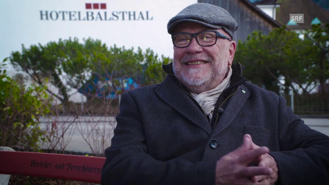 Ehemaliger Feuerwehrkommandant Rolf Zysset wirbt für Balsthal