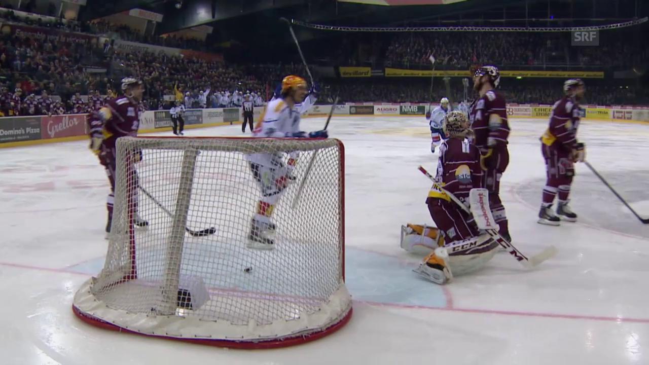 Eishockey: Playoffs 2015, 6. Halbfinal Genf-ZSC, 1:3 Ryan Shannon
